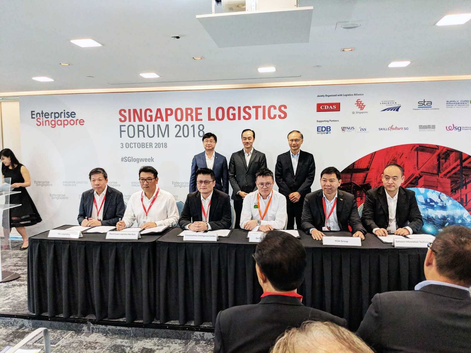 YCH Group Drives Singapore's Trade Flows With China Through CIC's e